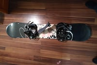 K2 snowboard and bindings 539 km