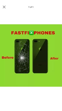 iPhone , x , xr , xs, xsmax , 8 , 8 plus Back Glass Replacement SERVICE Apple Valley, 55124