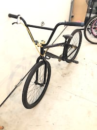 Black and blue bmx bike Mission, V2V 1S5