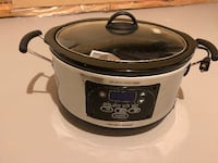 Hamilton Beach® Programmable Set & Forget® 6 qt. Slow Cooker Whitby