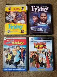 Friday DVD Set Washington, 20010