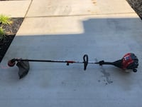 black and red string trimmer California, 20619