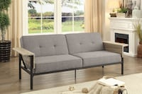 New Sleek Transitional Futon w/ Dual Functional Armrests Los Angeles, 90057