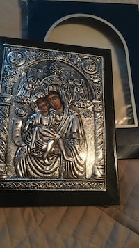 Brand new in box  and plastic religious icon