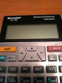 Sharp Calculator Markham, L3P