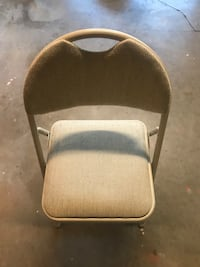 Folding Card Table Chairs (4)