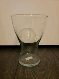 Pear shaped glass vase Toronto, M5A 2Z5