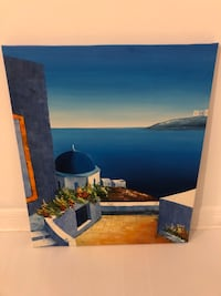 Greece Oil Painting - Retail: $99 Toronto
