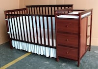 Shermag Cherrywood Crib and Change Table Combo Edmonton, T5E 5L1