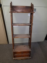 Antique wall rack with 2 small drawers  Highland Charter Township, 48356