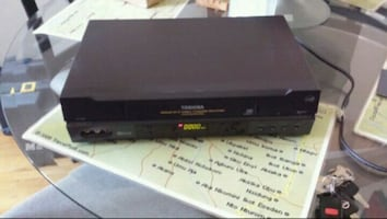 Toshiba VCR player with  no remote.