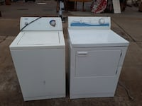 Apt size washer portable and ELECT dryer