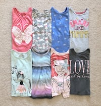 8 long sleeve tops size 2T Mississauga, L5M 6C6