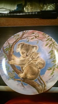 Knowles Koala Collector Plate Centreville, 20120