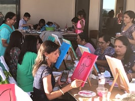 Art Parties and Workshops