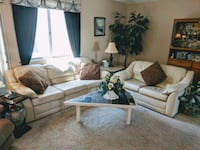 MUST GO TODAY! Leather Couch and Love Seat Las Vegas, 89130
