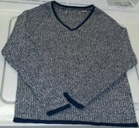 Blue Marled Solid Knit Sweater - Small Las Vegas, 89121