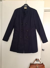 Women's Winter Navy Pea Coat Silver Spring, 20904