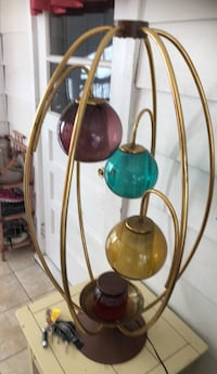 two green and red table lamps Toms River, 08755