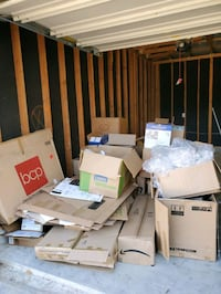 Large STURDY moving boxes! FREE!