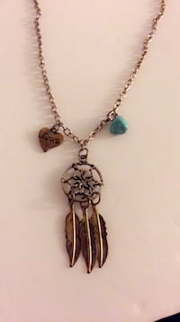 silver dreamcatcher pendant necklace Toronto, M2J 0B3