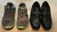 Boys Under Armour shoes size 12, dress shoes 13 Humble, 77346
