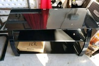 black and brown TV stand Cypress, 77433