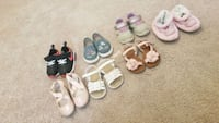 Toddler girl shoes Sizes 6 for all   Holly Ridge, 28445