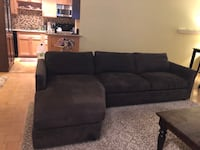 Sofa with chaise. Great condition. Room & Board couch. Free delivery in SF San Francisco, 94104