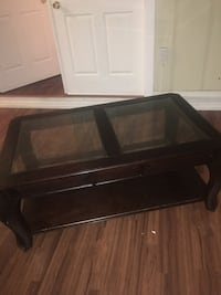 Glass top coffee table  Jacksonville, 32211