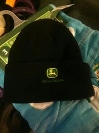 black John Deere knit cap