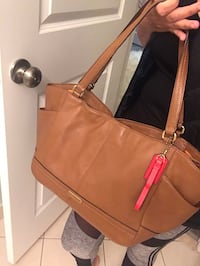 women's brown leather tote bag 905 mi