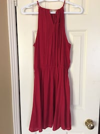 Women's Size Small red adjustable dress