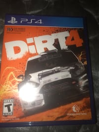 Dirt 4.  PS4 game Houston, 77002
