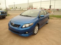 2009 Toyota Corolla SPORT-SUNROOF-HEATED SEATS-ONE OWNER-1.8L 4CYL-NO ACCIDENT Edmonton