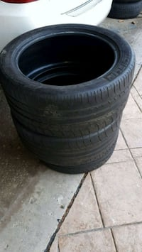 THREE 265/40/ZR18 tires FOR SALE