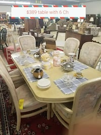 white and brown wooden dining table set Stephens City
