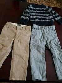 3 year old boy pants and jacket 502 km