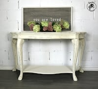 Vintage Ornate Console table Pickering