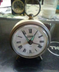 Vintage german wind up clock