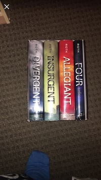 Full divergent book series brand new only read once Prince George, V2M 5P1