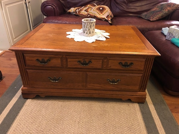Used Coffee Table And 3 Side Tables For Sale In Marietta Letgo