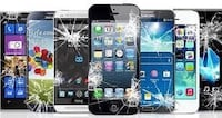 I fix all broken phones iphone 4,4s,5,5c,5s,6,6+,6s,6sq+,7,7+,8,8+,x and all samsung phones repairs