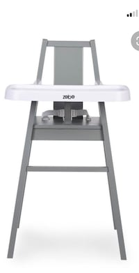 Zobo summit wooden high chair. Brand new in box.