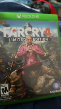 xbox one farcry  4 game case include the game Gahanna, 43230