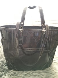 black crocodile skin leather tote bag Calgary, T2H