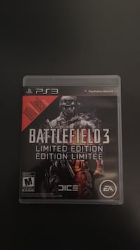 Battlefield 3 ps3 game case cheap Niagara Falls, L2H