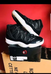pair of black Air Jordan 11's with box District Heights, 20747