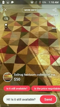 5x8 heirloom collection rug Springdale, 72764