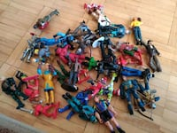 assorted plastic toy set in box Mississauga